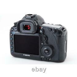 Near Mint Canon Cannon Eos 5D MarkIII Standard Telephoto Single Focus Lens Set