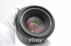Near Mint SONY SAL50F14 single focus Camera lens 50mm F1.4 full size compatible