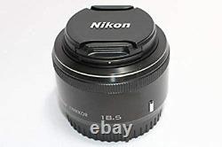 Nikon 1 NIKKOR 18.5mm f/1.8 Black CX Format Only Single Focus Lens from Japan