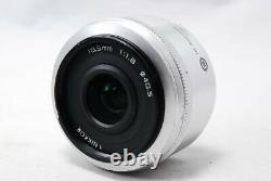 Nikon 1 NIKKOR 18.5mm f/1.8 single focus lens CX format Silver Used F/S