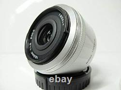 Nikon 1 NIKKOR 18.5mm f/1.8 white CX Format Only Single Focus Lens from Japan