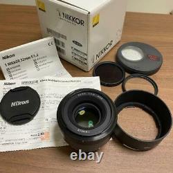 Nikon 1 NIKKOR 32mm f / 1.2 Black Single Focus Lens
