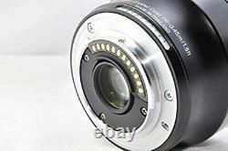 Nikon 1 NIKKOR 32mm f/1.2 Black Single Focus Lens CX Format Only from Japan Used