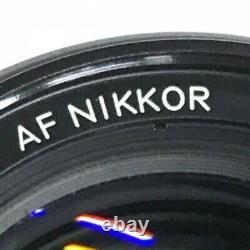 Nikon AF NIKKOR 85mm F1.8 Camera Lens