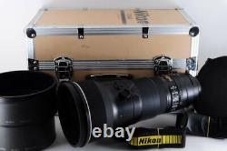 Nikon AF-S 400mm F2.8G ED VR NIKKOR IF Trunk Case Hooded Nikon Single Focus Tele
