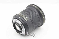 Nikon AF-S NIKKOR 20mm f/1.8G ED AFS20 single focus lens from Japan Used