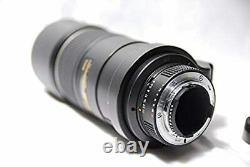 Nikon Ai AF-S Nikkor 300mm f/4D IF-ED Black Single Focus Lens Full size Used