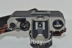Nikon FM2 / T film camera NIKKOR-H Auto 1 2 50mm single focus lens F/S # 100272