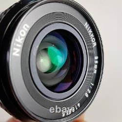Nikon Nikkor 35mm f/2.8 Ai Manual focus Prime lens FX digital
