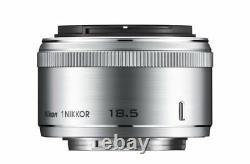 Nikon Single-Focus Lens 1 Nikkor 18.5Mm F/1.8 Silver Nikon Cx Fomatto Only
