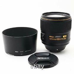 Nikon Single-Focus Lens AF-S NIKKOR 105mm f / 1.4E ED Full Size New