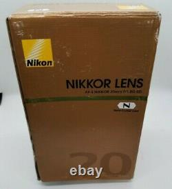 Nikon Single-Focus Lens Af-S Nikkor 20Mm F / 1.8G Ed Afs20 1.8G
