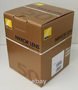 Nikon Single Focus Lens Af-S Nikkor 50Mm F / 1.8G (Special Edition) Full Size Co
