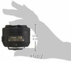 Nikon single focus lens AF -S DX NIKKOR 35 mm f / 1.8 G DX From Japan