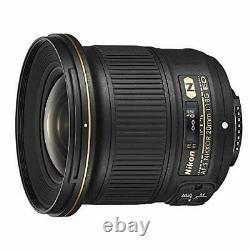 Nikon single focus lens AF-S NIKKOR 20mm f / 1.8G ED AFS20 1.8G
