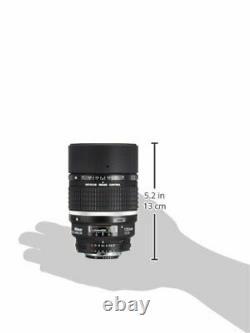 Nikon single focus lens Ai AF DC Nikkor 135mm f / 2D full size compatible