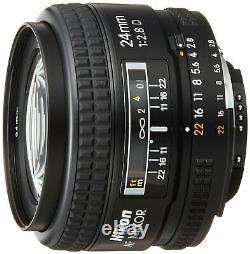 Nikon single focus lens Ai AF Nikkor 24mm f / 2.8 full size corresponding