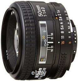 Nikon single focus lens Ai AF Nikkor 50mm F1.4D full size compatible from japan
