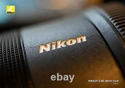 Nikon single focus macro lens NIKKOR Z MC 50mm f / 2.8 Z mount full siz No. 1264