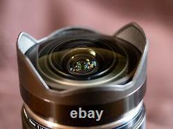 OLYMPUS Single Focus Fisheye Lens M. ZUIKO DIGITAL ED 8mm F1.8 PRO MFT New