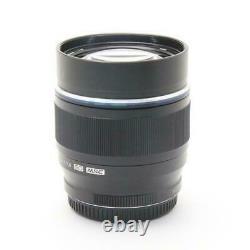 OLYMPUS Single Focus Lens M. ZUIKO DIGITAL ED 75mm F1.8 Black New