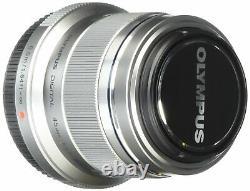OLYMPUS single-focus lens M. ZUIKO DIGITAL 45mm F1.8 Silver