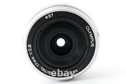 Olympus M. Zuiko 17mm f/2.8 Single focus pancake Lens From Japan Excellent
