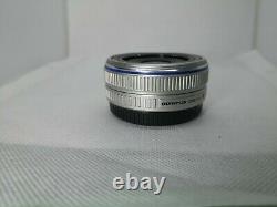 Olympus M. Zuiko DIGITAL 17mm f/2.8 Single focus pancake Lens Excellent++#21269