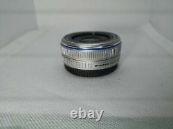 Olympus M. Zuiko DIGITAL 17mm f/2.8 Single focus pancake Lens Excellent++#21313