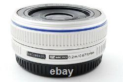 Olympus M. Zuiko Digital 17mm f/2.8 Single focus Lens Silver Exc++ #707845A