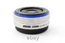 Olympus M. Zuiko Digital 17mm f/2.8 Single focus Lens Silver Exc+++ #719080A