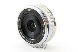 Olympus M. Zuiko Digital 17mm f/2.8 Single focus Lens Silver Exc+++ From Japan