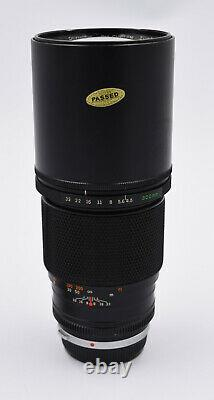 Olympus OM-SYSTEM ZUIKO MC AUTO-T 300mm f/4.5 single focus lens