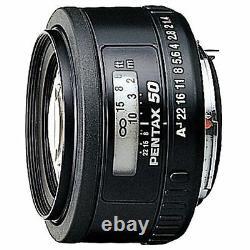 PENTAX Standard Medium Telephoto Single Focus Lens FA50mm F1.4 K mount New