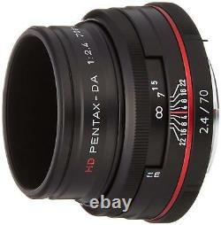 PENTAX Telephoto Single Focus Lens HD DA 70mm F2.4Limited Black K mount APS-C