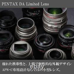PENTAX Ultra Wide Angle Single Focus Lens HD PENTAX-DA15mmF4ED AL Limited Silver