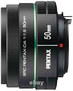 PENTAX telescopic single focus lens DA 50 mm F 1.8 K mount APS C size 22177