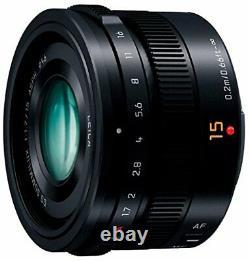 Panasonic single-focus wide-angle lens Micro Four Thirds for Leica DG SUMMILUX