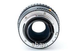 Pentax Asahi SMC Pentax-A 100mm f / 2.8 Macro Lens Single focus macro Manual len
