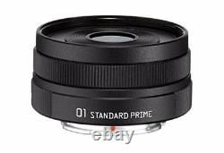 Pentax Standard Single-Focus Lens 01 Standard Prime Gray Two Black Q Mount 2 F/S