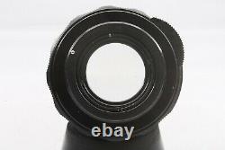 Rare early type Asahi Pentax Super-Takumar 55mm F/2 M42 Camera Lens #925