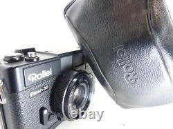 Rare single focus large aperture ROLLEI FLASH 35 38mm F2.8 with case