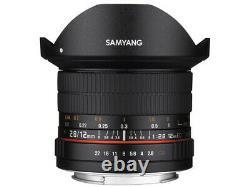 SAMYANG 12mm F2.8 ED AS NCS Fisheye Lens for Canon EOS Japan Ver. New