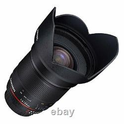 SAMYANG 24mm F1.4 ASPH. IF Lens for Sony Japan Ver. New / FREE-SHIPPING