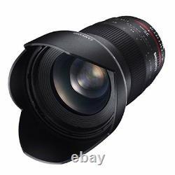 SAMYANG Single-Focus Standard Lens 35mm F1.4 Full Size for Nikon AE Japan new