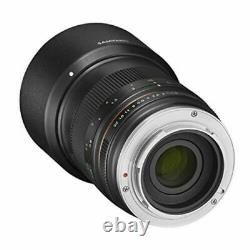 SAMYANG Single focus telephoto lens 85 mm F 1.8 ED UMC CS For Canon EOS M