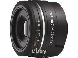 SONY DT 30mm F2.8 Macro Lens SAM SAL30M28 Japan Ver. New / FREE-SHIPPING