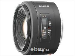 SONY single focus lens 50 mm F1.4 SAL50F14 full size compatible from JAPAN
