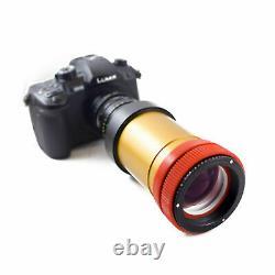 Schneider XL Anamorphic Lens V3.5 PREMIUM SINGLE FOCUS setup, for DSLR Cameras
