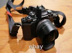 Single focus fish-eye lens Micro Four Thirds Lumix G FISHEYE 8mm/F 3.5 Panasonic